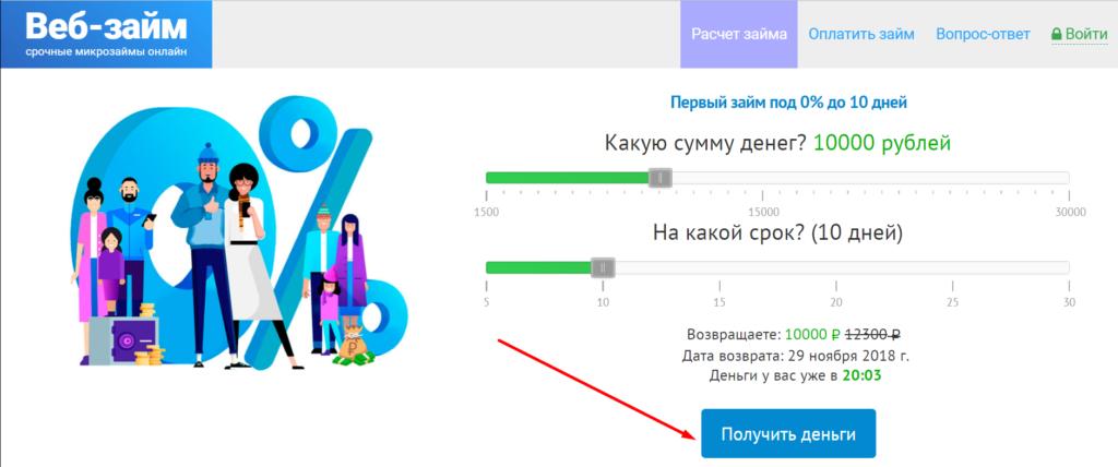 Займ 10000 рублей срочно на карту